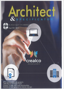Architect & Specification Mag Cover
